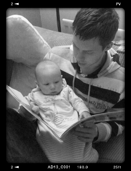 Story time with Dad