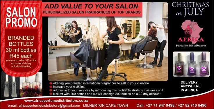 SALON OWNERS can now add value to their business.... what better way? ADS BY MYSMADS