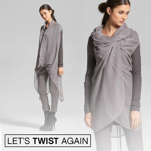 BACK IN STOCK - Lets Twist Again with our most versatile top – Taylor