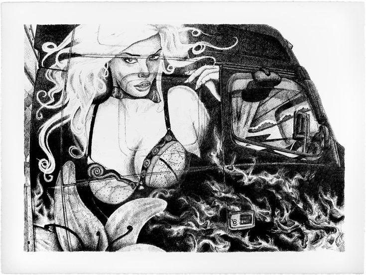 "Thomas Pålsson – Untitled. Ink-jet print, 65 x 50 cm. Oplag: 30. Fra serien ""The Strongest of the Strange"". Pris: 1.100 kr."
