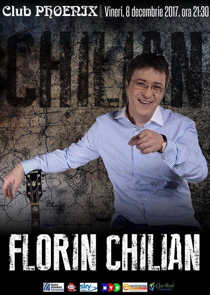 Florin Chilian in concert la Phoenix Constanta Vineri 8 dec 2017 incepand cu ora 21.30,  va astept cu drag prieteni alaturi de prieteni intr-un loc de legenda, Clubul Phoenix din Constanta. adresa 1 Cpt. Dobrila Eugeniu Constanta, Romania Call 0730 617 787
