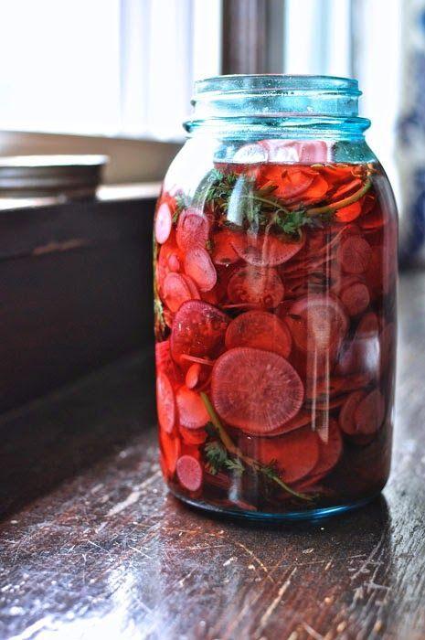 ¡Hola! Jalapeño: Sweet Cumin Radish Pickles. Cumin recipes healthy, cumin recipes vegetarian, cumin recipes how to make, cumin recipes veggies #cuminseeds