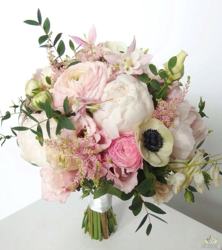 A bouquet of #peony #anemones #eustomy #eucalyptus #peonie #peonies #flowers #flower #kwiaty #bukiet #bouquet
