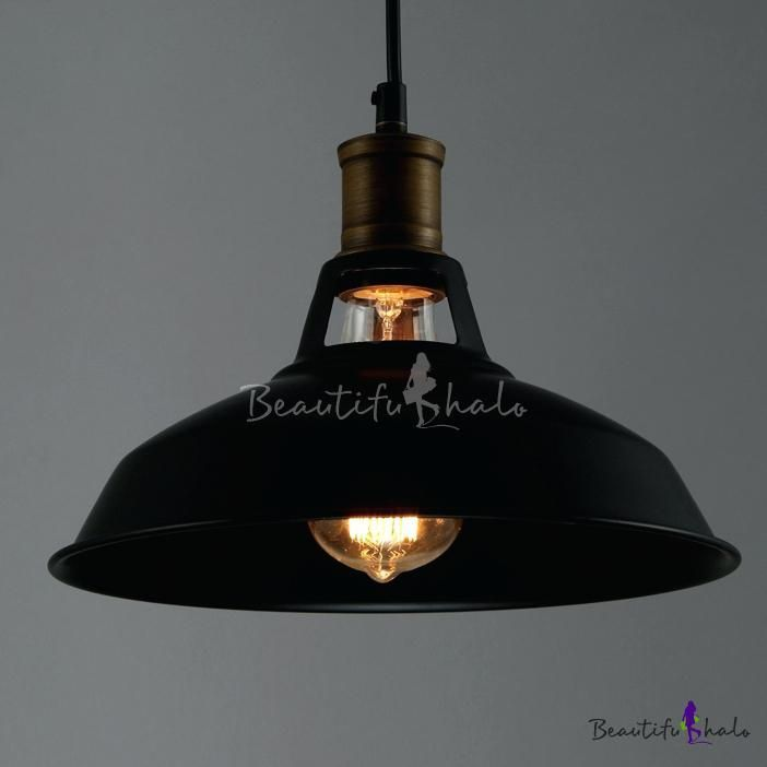 Bronze Industrial Pendant Light Industrial Retro Black Pendant Light