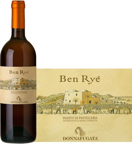 Donnafugata 2009 Ben Ryé Passito di Pantelleria - Complex and ample sweet wine with an outstanding freshness. On the nose intense notes of apricot and peach follewed by sweet sensations of dried figs and honey, aromatic herbs and mineral notes. +164855 SPEC