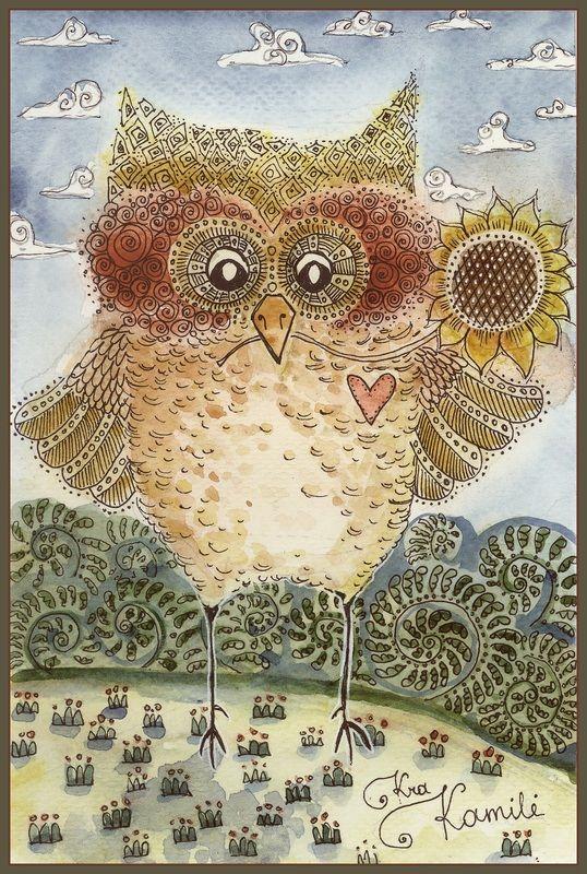 ilustración de Kamilė Krasauskaitė