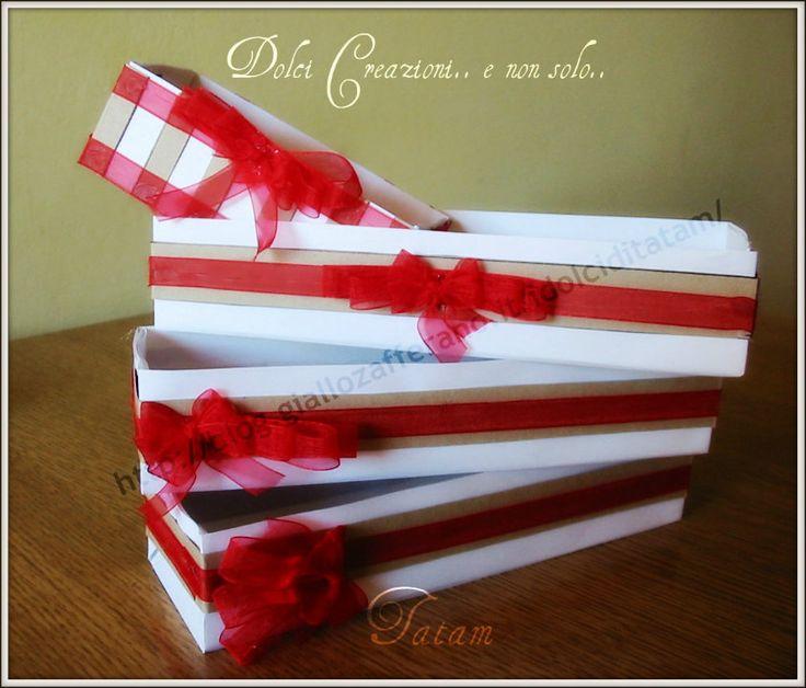 Scatola Regalo Natale - Fai da Te