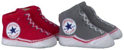 Rode Converse Sokken CHUCK BOOTIE