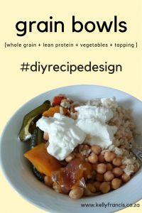 Grain Bowl Recipe Guide - Kelly Francis : Registered Dietitian www.kellyfrancis.co.za
