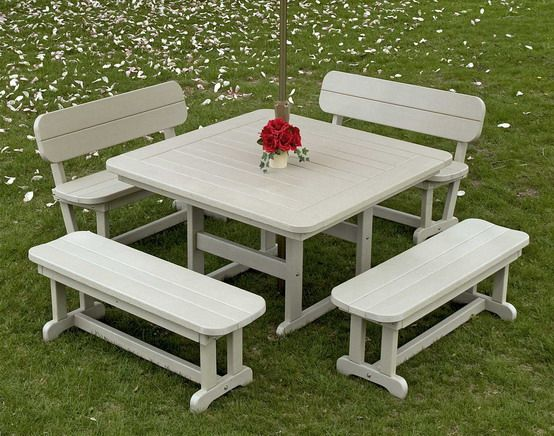 1000 Ideas About Outdoor Picnic Tables On Pinterest