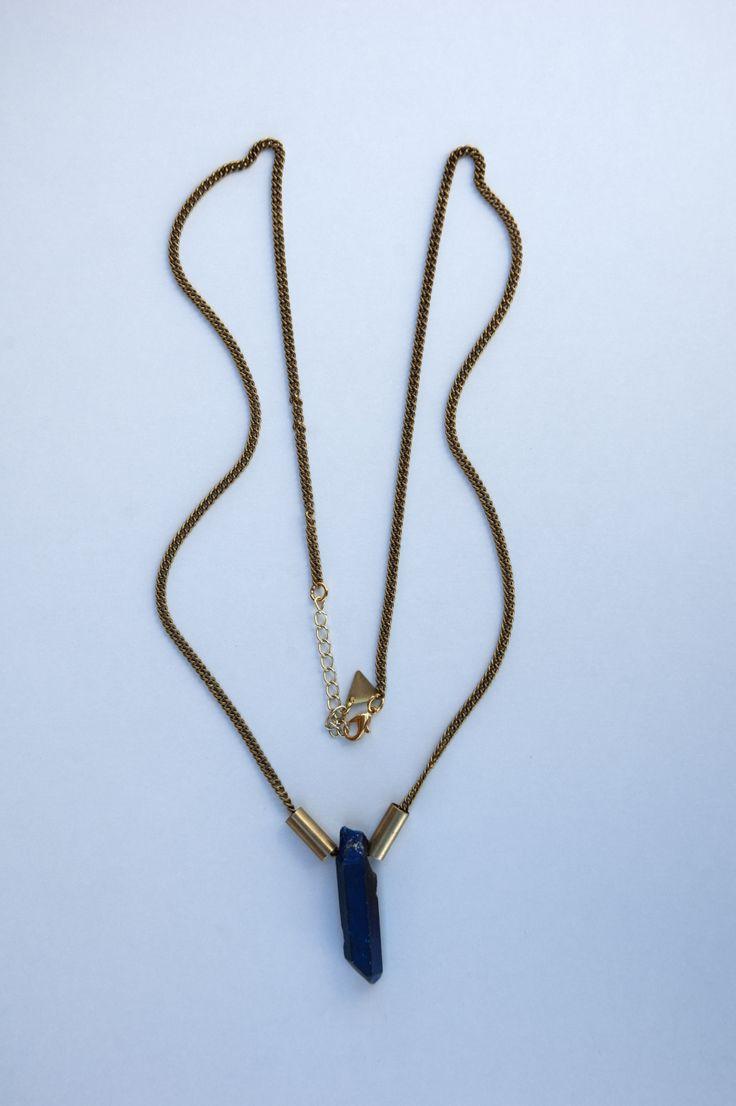 Flame Aura Blue Titanium Quartz Crystal Necklace https://www.etsy.com/listing/189912012/flame-aura-blue-titanium-quartz-crystal?ref=listing-10