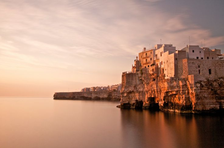 The historic centre of Polignano a Mare shows traces of Arab, Byzantine, Spanish and Norman rule