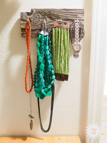 Make a Necklace Organizer in 15 Minutes - House Bella