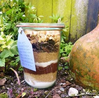 Brownie in een pot / De Gulle Aarde