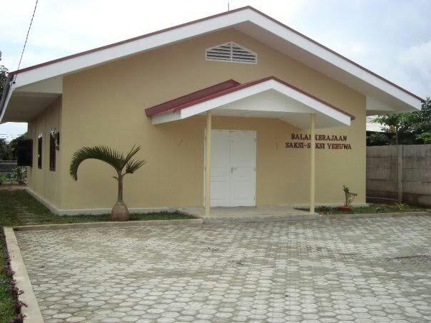 Kingdom Hall of Jehovah Witnesses in Pangkal Pinang, Bangka Belitung, Indonesia