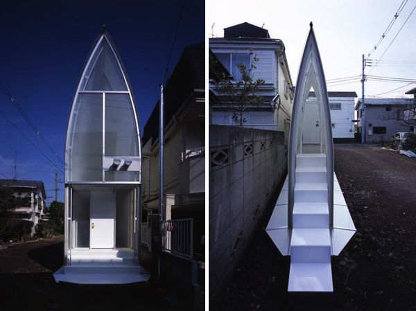 Lucky Drops, This Modern House In Tokyo U2013 Another Fascinating Design By Atelier  Tekuto