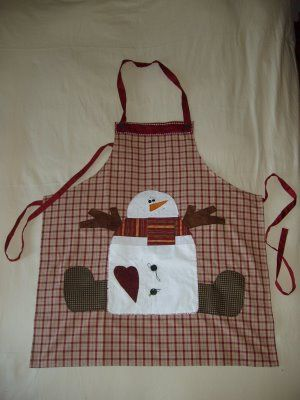 Apron for christmas
