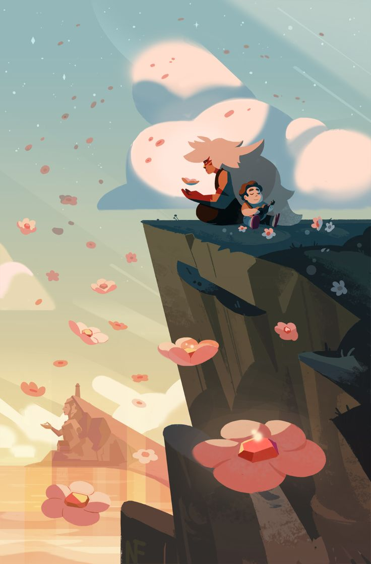 I have a feeling about those pink gem shards in roses' moss…