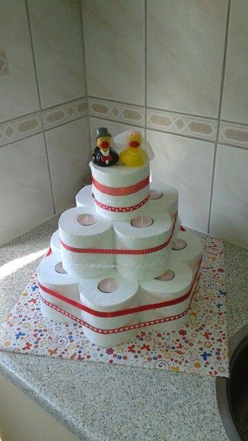 Cadeautje voor bruiloft, nu nog geld verstoppen ;)