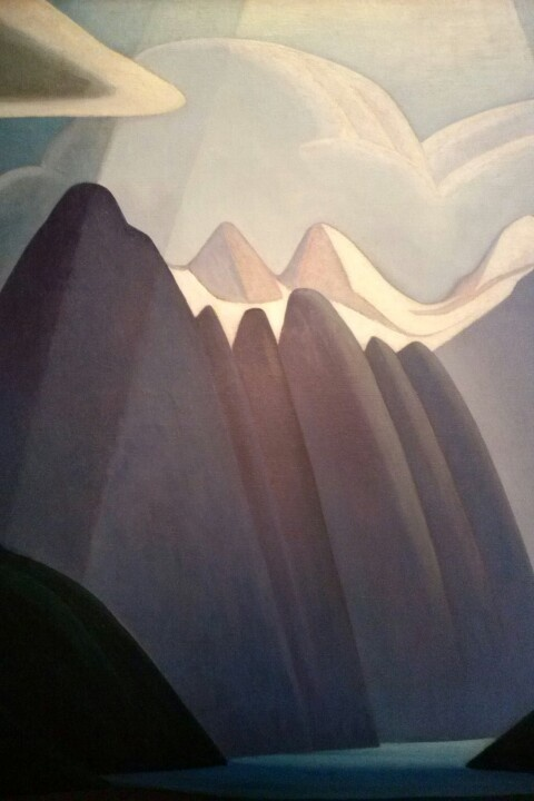 Lawren  Harris. (1885-1970). Mountain Painting IX, c. 1928 Group of Seven