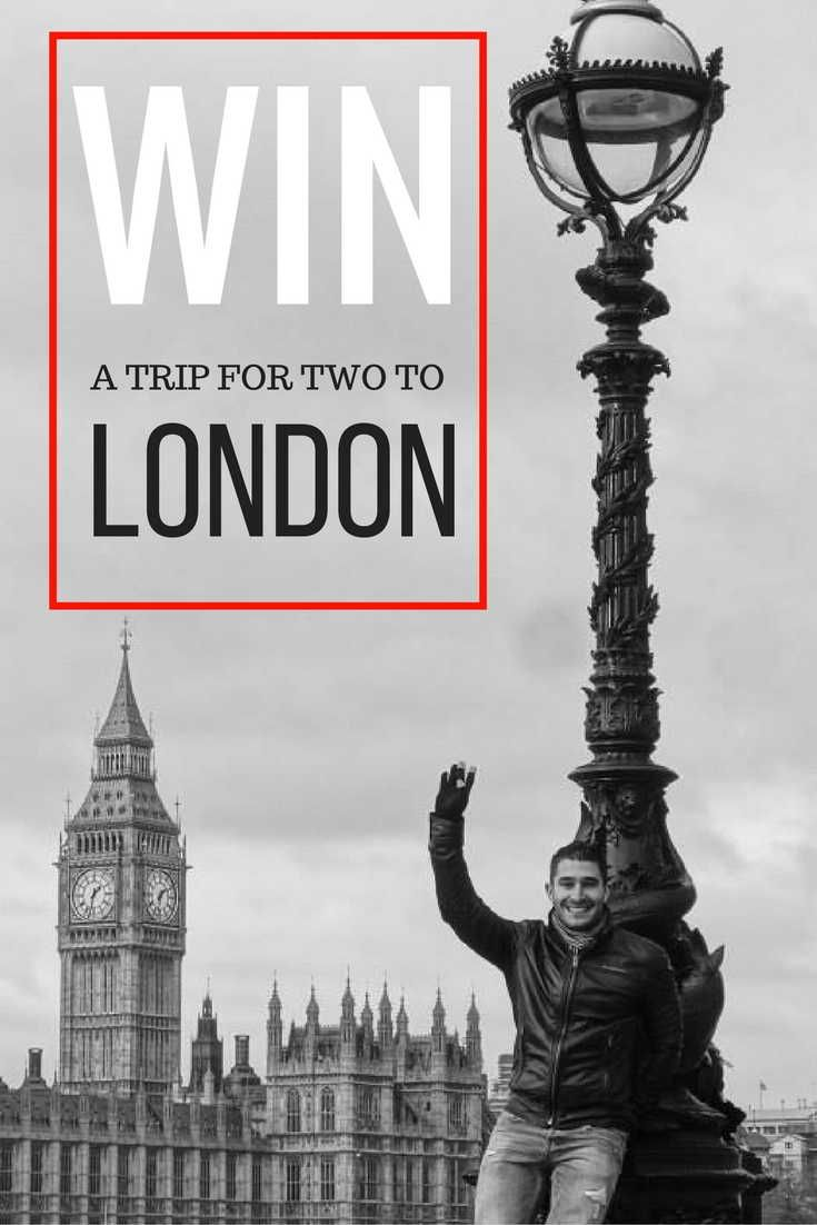 Win a free trip to London for 2 this fall with the Nomadic Boys' giveaway with IGLTA, United Airlines, NH Hotels and Visit Britain.
