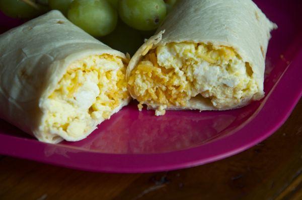 Kid Approved Breakfast Burritos - Breakfast