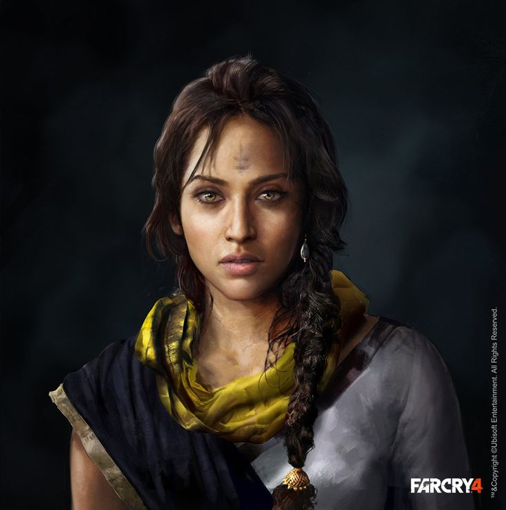 Far Cry 4 Is Full Of Beautiful People