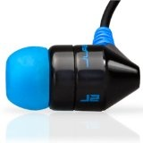 JBuds J2 Premium Hi-Fi Noise-Isolating Earbuds Style Headphones (Black/Electric Blue) (Electronics)By JLAB