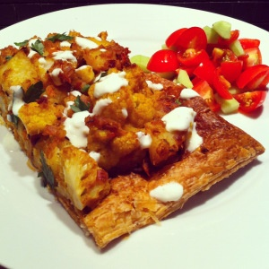 Aloo Gobi Tart… where have you been all my life?