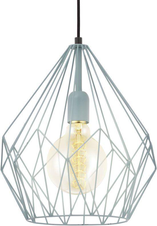 bol.com   EGLO Vintage - Hanglamp - 1 Lichts - Mint   Wonen