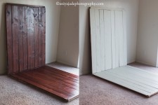DIY Double Sided Faux Floor and Backdrop | Colorado Springs Newborn Photographer, Graphic Designer… Woodworker Extraordinaire » Aniya Jade Photography