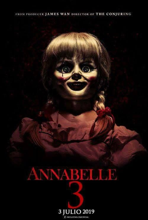 Listos Para El Regreso De La Muneca Diabolica Movie Cinema Film Movies Actor Films Annabelle Theconjuring Film Horor Horor Animasi