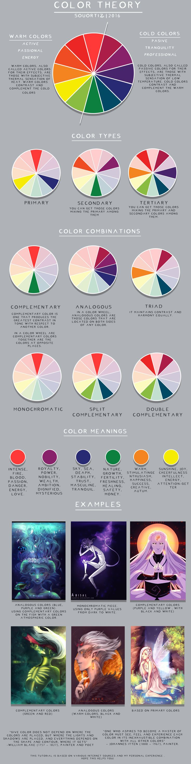 Color theory online games - Color Theory Tutorial By Souortiz