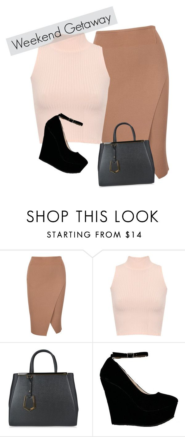 """Weekend Getaway"" by dominyka-januzyte ❤ liked on Polyvore featuring WearAll and Fendi"