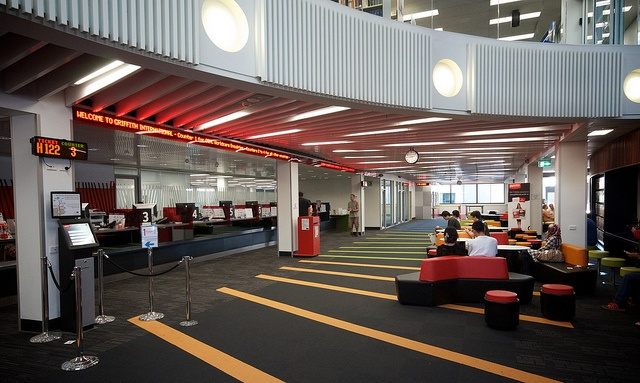 Griffith University Nathan Library - Student admin ticketing and desk system