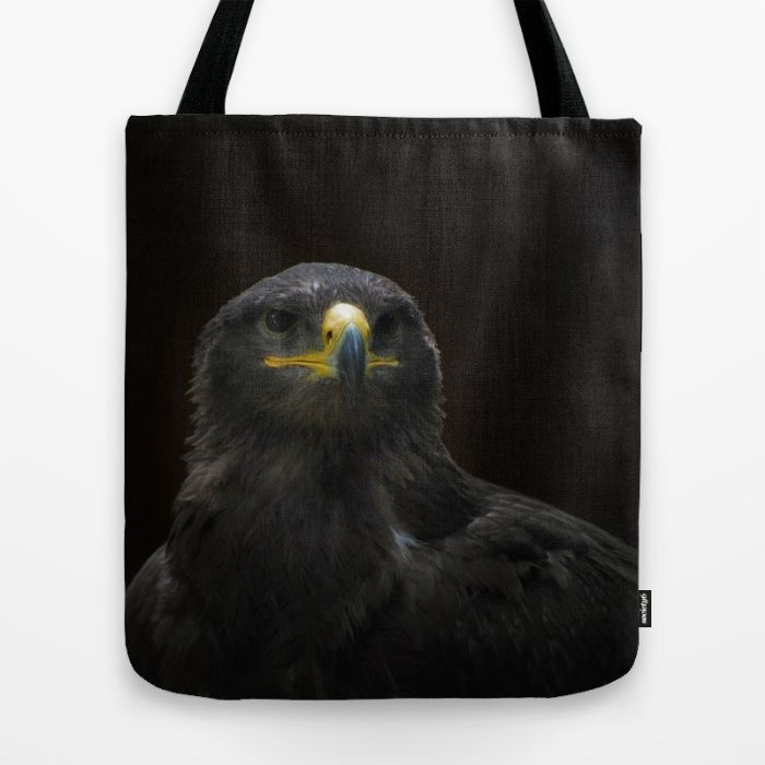 Steppe Eagle Tote Bag by Mixed Imagery | Society6