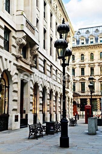 Stock Photo : London street