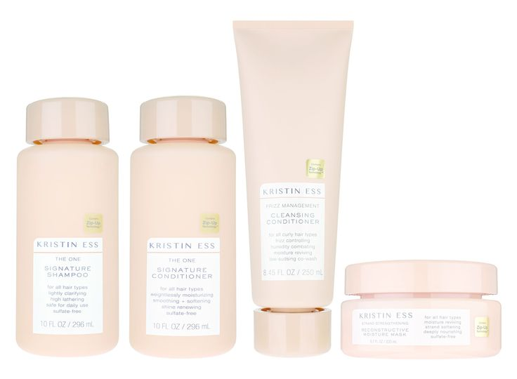 The Secret to Lauren Conrad's Perfect Hair Is Coming to a Target Aisle Near You - Kristin Ess Signature Shampoo and Conditioner, Cleansing Conditioner, and Reconstructive Mask from InStyle.com