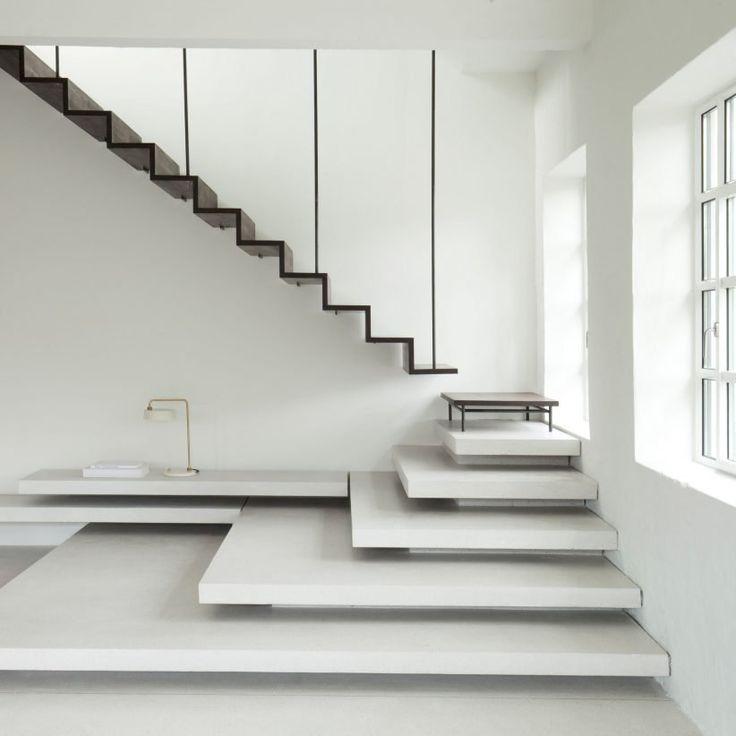 Interior Designs Stairs Location: Best 25+ Industrial Stairs Ideas On Pinterest