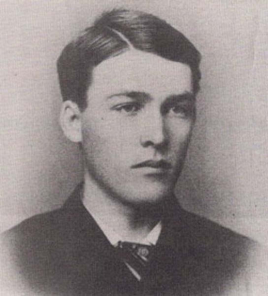 Warren Earp in 1880 at age 25. Courtesy of San Bernardino Historical and Pioneer Society.