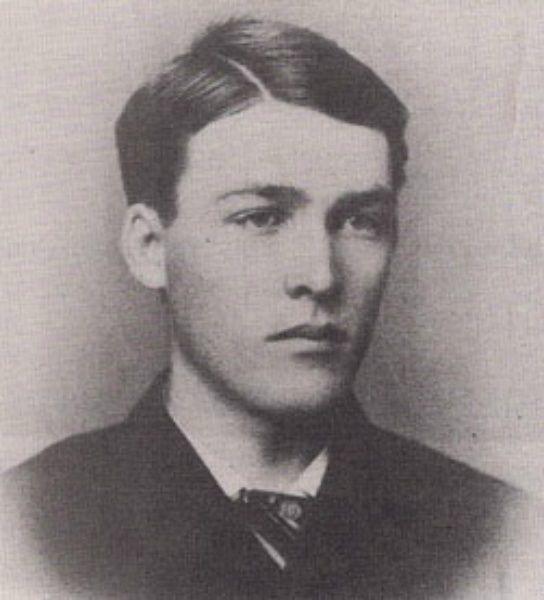 Warren Earp in 1880 at age 25. Courtesy of San Bernardino Historical and Pioneer Society.