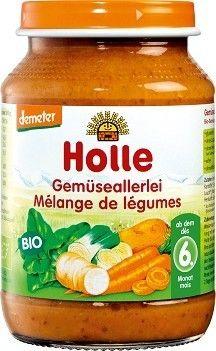HOLLE bio obiadek +6m WARZYWNY 190g bio żywność w biotojestto.pl