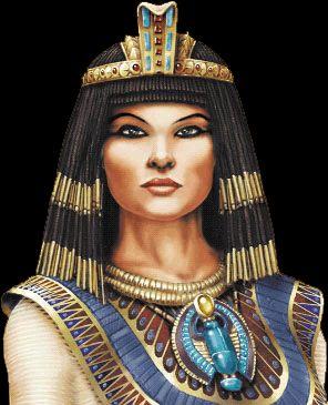 Cleopatra, con 19 años, ya era reina de Egipto. Julio ...