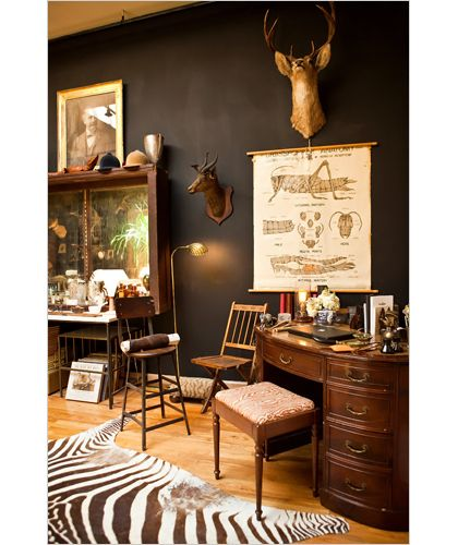 design is mine : isn't it lovely?: interior inspiration : vintage masculine, part two.