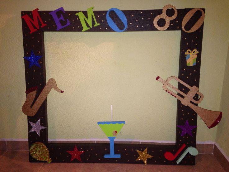 Marco para fotos cumplea os 80 marcos para fotos - Marcos para fotos decoracion ...