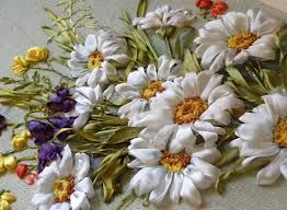 silk ribbon embroidery patterns - Google Search