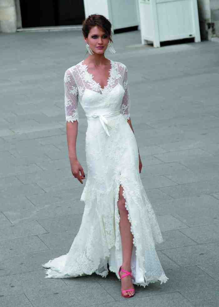 1000 ideas about second wedding dresses on pinterest for Beach wedding dresses second marriage