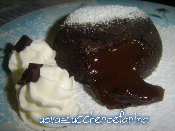 tortini di cioccolato dal cuore morbido