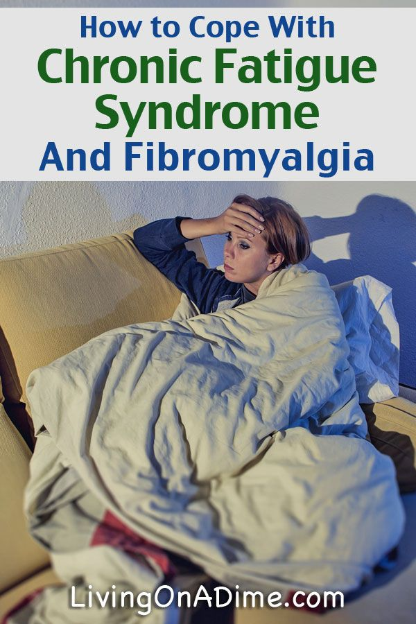 How To Cope With Chronic Fatigue Syndrome And Fibromyalgia