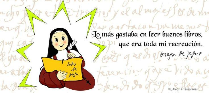 Santa Teresa de Jesús y los libros